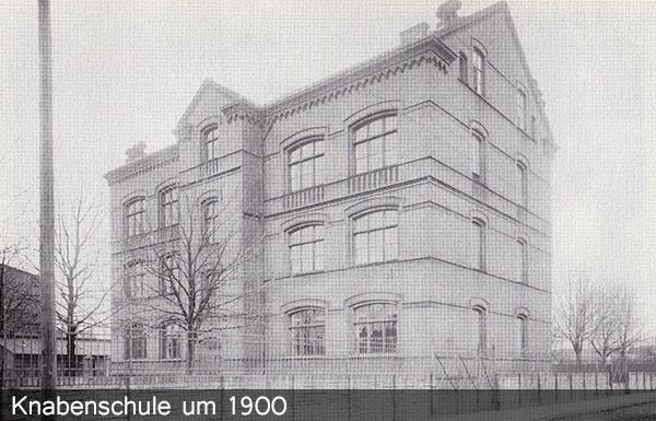 Knabenscvhule um 1900